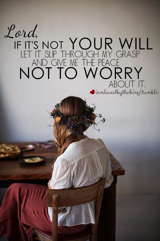 Prayer: God's Will